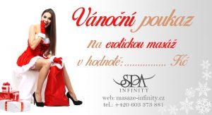 vanocni poukaz infinity